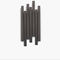 wall-mounted coat rack / contemporary / ash / backlit