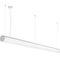 hanging light fixture / surface-mounted / LED / tubular