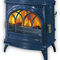 wood heating stove / gas / traditional / cast iron