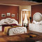 double bed / classic / with headboard / wooden