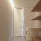 interior door / pivoting with offset axis / pivoting with central axis / MDF