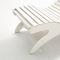 minimalist design chaise longue / wooden / for wellness center