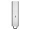 commercial soap dispenser / wall-mounted / aluminum / manual
