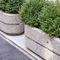 fiber-reinforced concrete planter