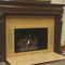 gas fireplace / traditional / open hearth / floor-mounted