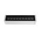 contemporary wall light / outdoor / steel / LED