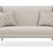 traditional upholstered bench / fabric / gold plated / curved