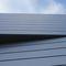 metal cladding / smooth / panel / gray