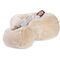 contemporary bean bag / fabric / double / beige