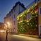 outdoor green wall / modular