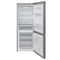 double door refrigerator-freezer / stainless steel / energy-efficient / bottom freezer