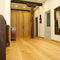 engineered parquet floor / floating / oak / oiled
