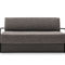 sofa bed / contemporary / fabric / metal