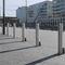 security bollard / galvanized steel / stainless steel / powder-coated steel