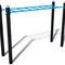 fitness trail ladder / steel / horizontal
