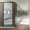 removable partition / wooden / aluminum / glass