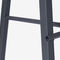 contemporary bar stool / powder-coated steel / for offices / for hotels