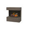 bioethanol fireplace / electric / contemporary / open hearth