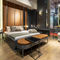 traditional hotel room furniture set