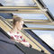 top-hung roof window