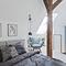 pivoting roof window / wooden / double-glazed / thermal break