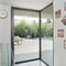 sliding patio door / aluminum / triple-glazed / double-glazed