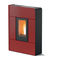 pellet heating stove / contemporary / steel / RT 2012