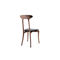 organic design chair / upholstered / with armrests / oak