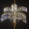 traditional chandelier / brass / incandescent / LED