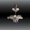 traditional chandelier / brass / incandescent / LED