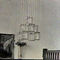 traditional chandelier / crystal / brass / LED