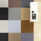 contemporary rug / geometric / paper yarn / rectangular