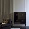 high sideboard / contemporary / lacquered wood / solid wood