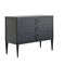 chest of drawers with long legs / traditional / lacquered wood / solid wood