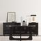 contemporary sideboard / lacquered wood / solid wood / wood veneer