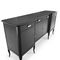 traditional sideboard / solid wood / ash