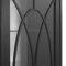 traditional display case / ash / wood veneer / solid wood