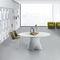 contemporary table / Cristalplant® / crystal / in wood fiber