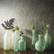 contemporary wallpaper / patterned / gray / blue