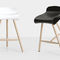contemporary bar stool / wooden / metal / commercial