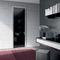 interior door / swing / steel / glazed