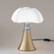 table lamp / contemporary / aluminum / stainless steel