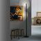 floor-standing lamp / original design / aluminum