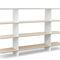 contemporary shelf / oak / MDF / wood veneer