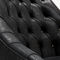 contemporary armchair / leather / upholstered / custom