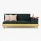 sofa bed / modular / contemporary / fabric