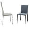 contemporary chair / upholstered / high back / fabric