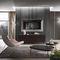 wall-mounted TV mirror / contemporary / rectangular / squareRiflessi