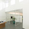 interior door / pivoting with offset axis / pivoting with central axis / aluminum