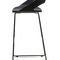 contemporary bar stool / wooden / steel / contract